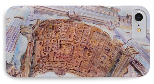 Arch Of Titus One Phone Case by Jenny Armitage