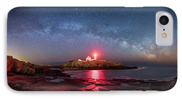 Arch Over Nubble - Panorama IPhone Case