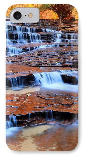 Archangel Falls In Zion Phone Case by Pierre Leclerc Photography
