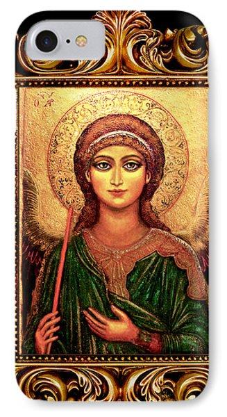 Archangel Gabriel Phone Case by Ananda Vdovic