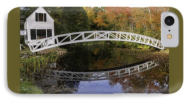 Arched Bridge-somesville Maine IPhone Case by Thomas Schoeller