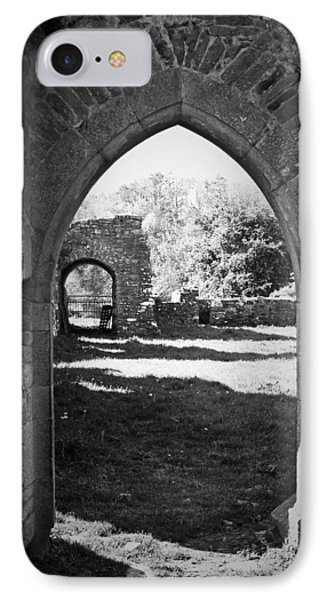 Arched Door At Ballybeg Priory In Buttevant Ireland Phone Case by Teresa Mucha