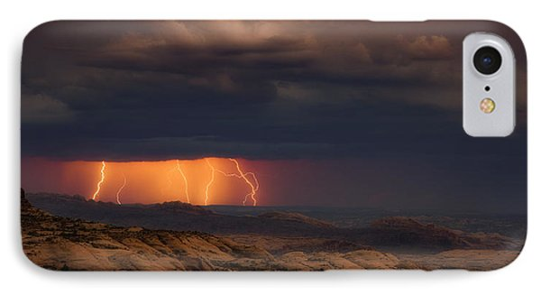 Arches Light Show IPhone Case