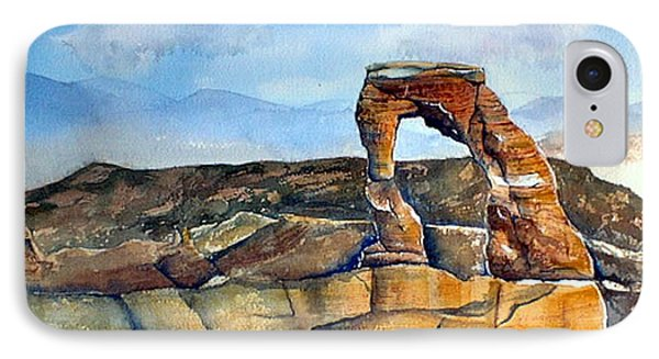 Arches National Park IPhone Case by Debbie Lewis