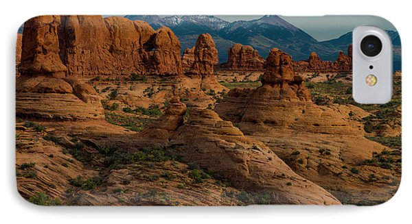 IPhone Case featuring the photograph Arches National Park by Gary Lengyel