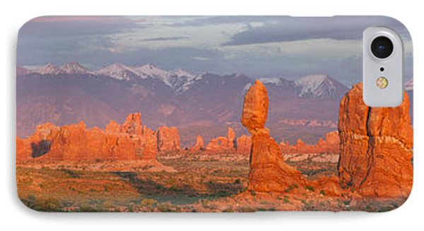Arches National Park Sunset IPhone Case by Aaron Spong