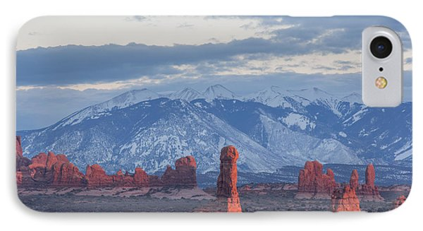 Arches National Park, Sunset IPhone Case