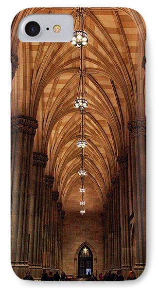 IPhone 7 Case featuring the photograph Arches Of St. Patrick's Cathedral by Jessica Jenney