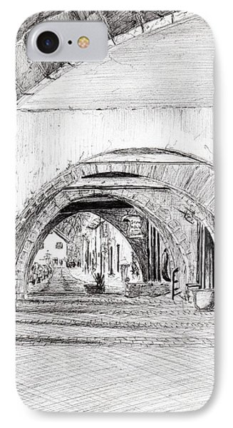 Arches Sauveterre France IPhone Case by Vincent Alexander Booth
