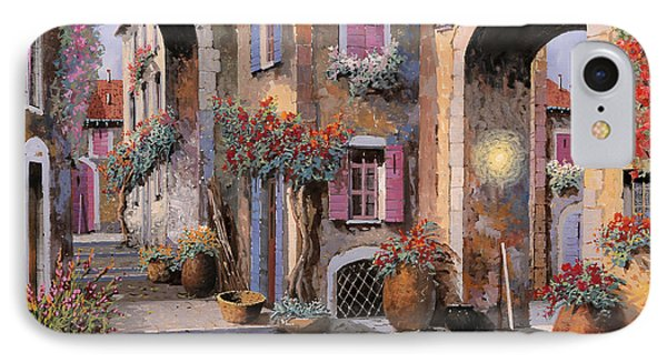 Archi A Toni Viola IPhone Case by Guido Borelli