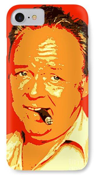 Archie Bunker Portrait IPhone Case
