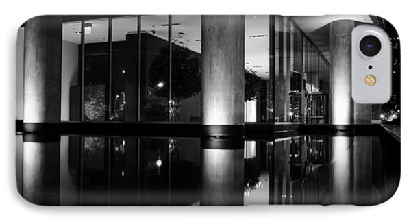 Architectural Reflecting Pool 2 IPhone Case by John McArthur