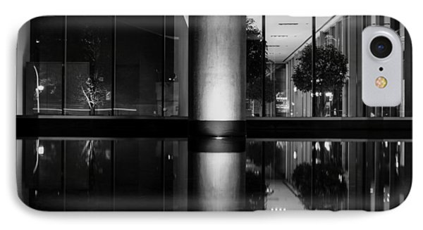 Architectural Reflecting Pool IPhone Case