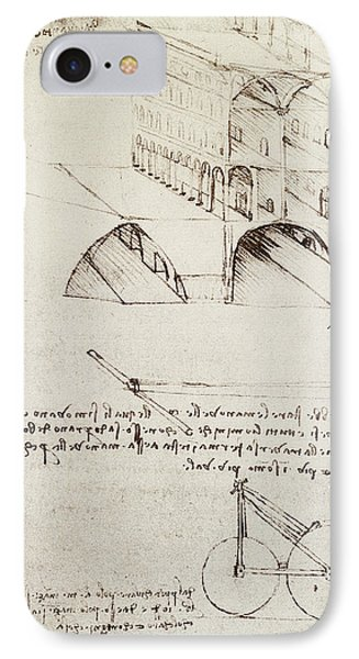Architectural Study IPhone Case by Leonardo Da Vinci
