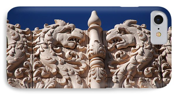Architecture At The Lensic Theater In Santa Fe IPhone Case by Susanne Van Hulst
