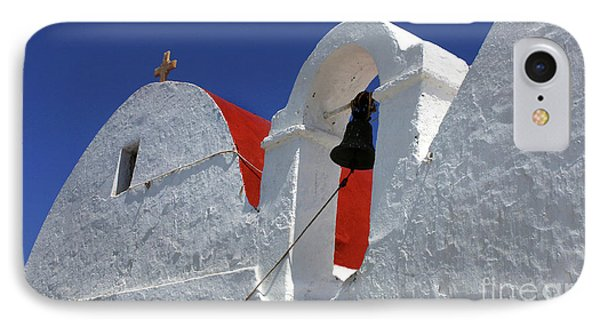 Architecture Mykonos Greece IPhone Case by Bob Christopher