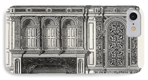 Architecural Plan For The Side Of A Library IPhone Case