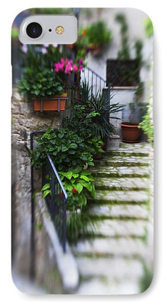 Archway And Stairs Phone Case by Marilyn Hunt