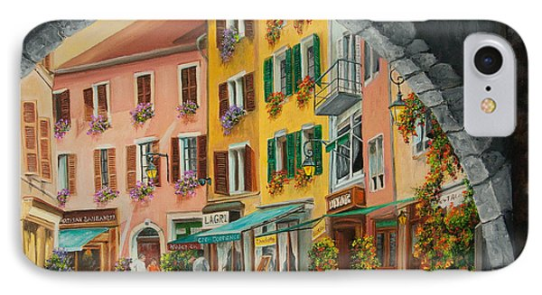 Archway To Annecy's Side Streets IPhone Case