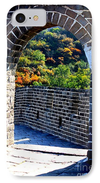 Archway To Great Wall IPhone Case by Carol Groenen