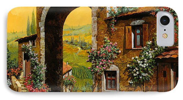 Arco Di Paese IPhone Case by Guido Borelli