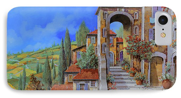 Arco Dopo Le Scale IPhone Case by Guido Borelli