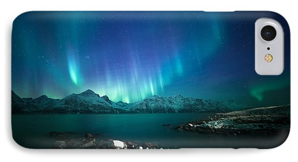 Arctic Blessings IPhone Case by Tor-Ivar Naess