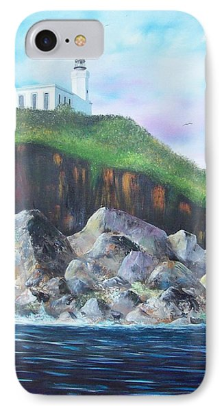 Arecibo Lighthouse Phone Case by Tony Rodriguez