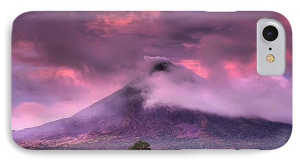 Arenal Volcano Phone Case by Dolly Sanchez