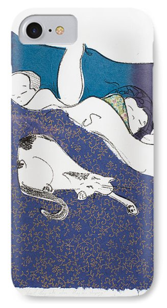Aren't They Cute When They Are Sleeping IPhone Case by Leela Payne