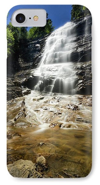 IPhone Case featuring the photograph Arethusa Falls by Robert Clifford