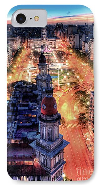 Argentina National Congress IPhone Case by Bernardo Galmarini