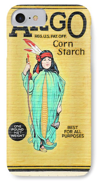 Argo Corn Starch Wall Advertising IPhone Case