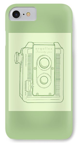 IPhone Case featuring the digital art Argoflex Green by Christina Lihani