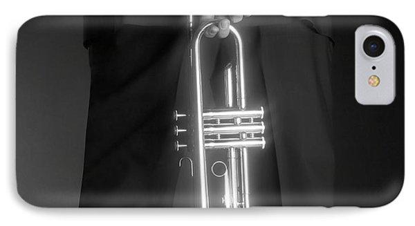 Ari And Trumpet IPhone Case