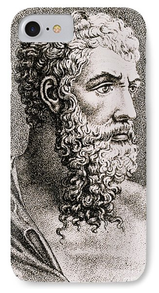 Aristotle, Ancient Greek Philosopher Phone Case by Science Source