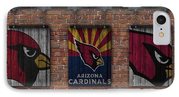 Arizona Cardinals Brick Wall IPhone 7 Case by Joe Hamilton