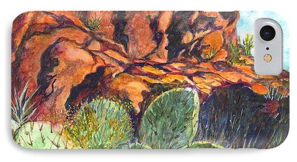 Arizona Desert IPhone Case by Carol Wisniewski