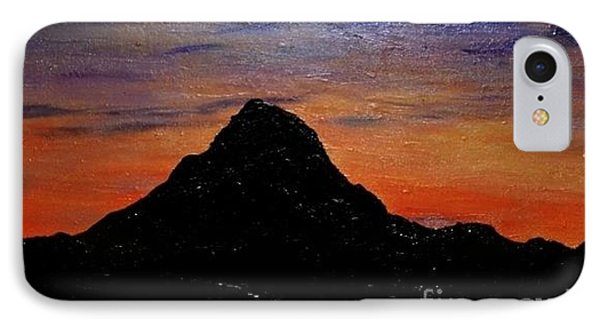 IPhone Case featuring the painting Arizona Heat by Lori Jacobus-Crawford