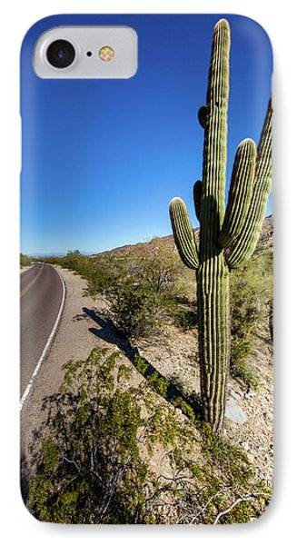 IPhone Case featuring the photograph Arizona Highway by Ed Cilley