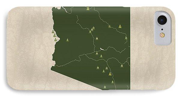 Arizona Parks IPhone Case