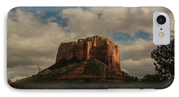 IPhone Case featuring the photograph Arizona Red Rocks Sedona 0222 by David Haskett
