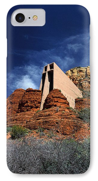 Arizona, Sedona  Chapel Of The Holy Cross IPhone Case