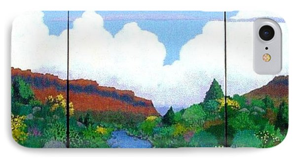 IPhone Case featuring the painting Arizona Sky by Bernard Goodman