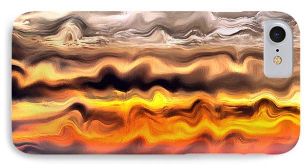 Arizona Sunrise IPhone Case by Barbara Snyder