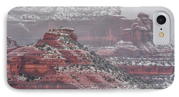 Arizona Winter IPhone Case by Racheal Christian