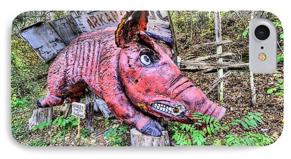 Arkansas Razorbacks IPhone 7 Case by JC Findley