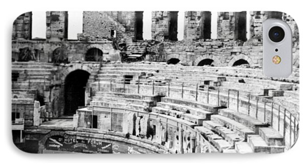 Arles Amphitheater A Roman Arena In Arles - France - C 1929 Phone Case by International  Images