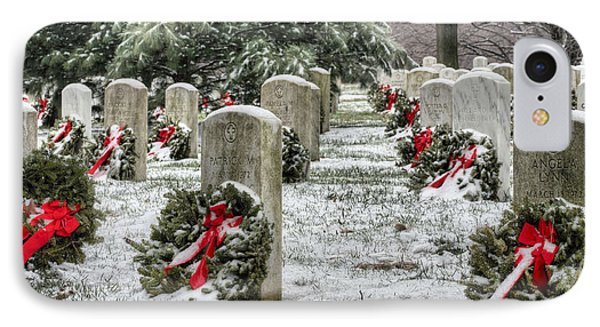 Arlington Christmas Phone Case by JC Findley