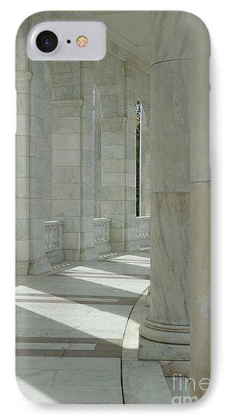 Arlington Memorial Amphitheater Hall IPhone Case